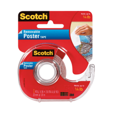 Scotch Removable Poster Tape 34 x