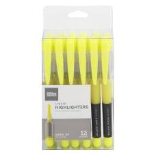 Office Depot Brand Liquid Ink Highlighters