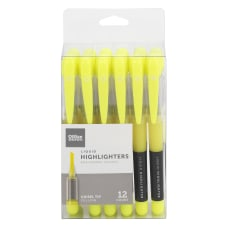 Office Depot Liquid Ink Highlighters With