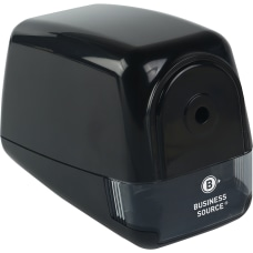Business Source Electric Pencil Sharpener Helical