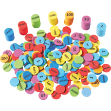 Learning Resources Place Value Disks ThemeSubject