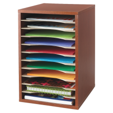 Safco Compact Adjustable Shelf Organizer 16
