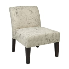 Ave Six Laguna Accent Chair ScriptDark