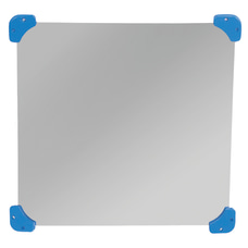 Childrens Factory Square Acrylic Wall Mirror