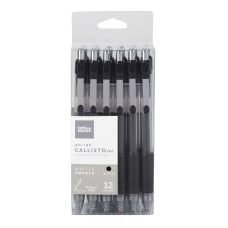 FORAY Soft Grip Retractable Gel Pens