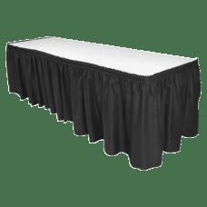 Genuine Joe Linen Like Pleated Table