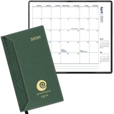 Interlace Pocket Calendar Monthly