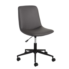 Realspace Praxley Faux Leather Low Back