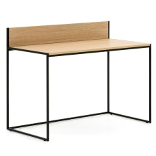 Allermuir Crate 48 W Desk OakBlack