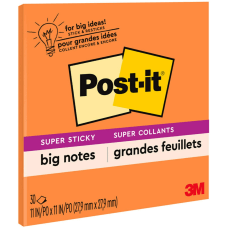 Post it Super Sticky Big Notes