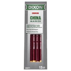 Dixon Phano Nontoxic China Markers Red