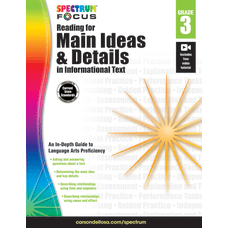Spectrum Reading For Main Ideas And