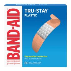 BAND AID Brand TRU STAY Plastic