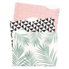 U Brands Fashion File Folders Letter