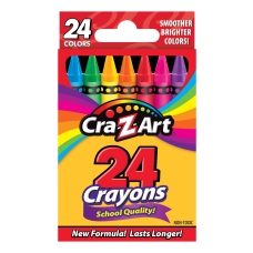 Cra Z Art Basic Crayons Assorted