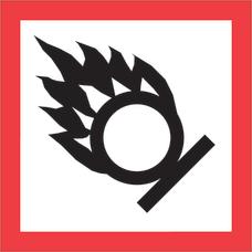Tape Logic Pictogram Labels DL4246 Flame
