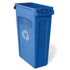 Rubbermaid Commercial Slim Jim Recycle Waste