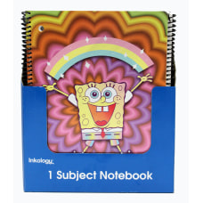 Inkology Notebooks SpongeBob SquarePants 8 12