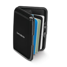Samsonite Aluminum RFID Wallet Black