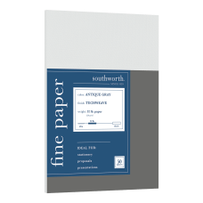 Southworth Techweave Business Papers Antique Gray