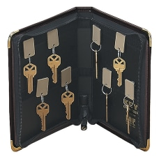 STEELMASTER Portable Zippered 24 Key Case
