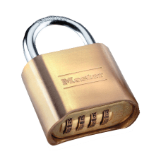 Master Lock Resettable Combination Lock Brass