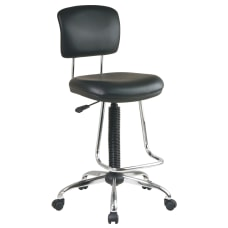 Chrome Finish Economical Chair with Teardrop
