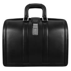 McKlein Morgan Leather Briefcase Black