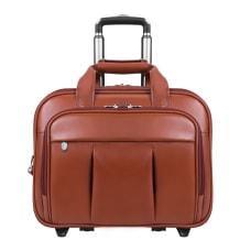 McKlein Damen Wheeled Leather Briefcase With