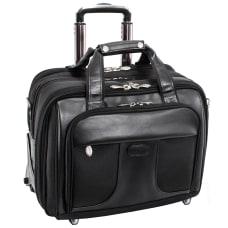McKlein Chicago Wheeled Nylon Laptop Case