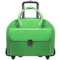 McKlein Glen Ellyn Italian Leather Briefcase