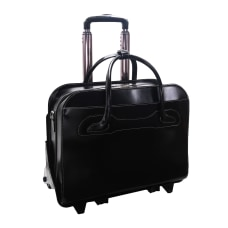 McKlein Willow Brook Leather Detachable Wheeled