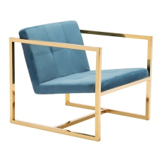 Zuo Modern Alt Arm Chair BlueGold