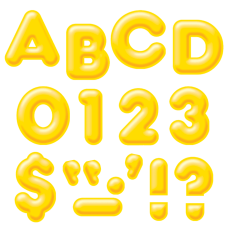 Trend Ready Letters Uppercase 3D Letters