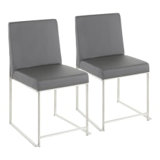 LumiSource High Back Fuji Dining Chairs