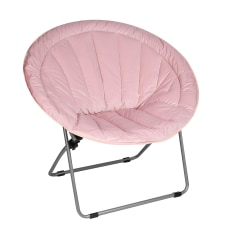 Brenton Studio Papasan Plush Chair Pink