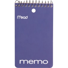 Mead Wirebound Memo Book 3 x