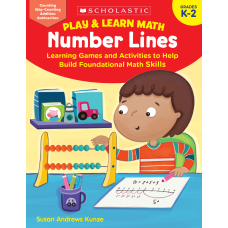 Scholastic Play Learn Math Number Lines