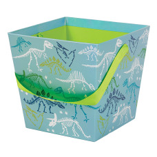 Amscan Iridescent Paperboard Dinosaur Easter Buckets