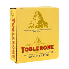Toblerone Milk Chocolate Bars 176 Oz