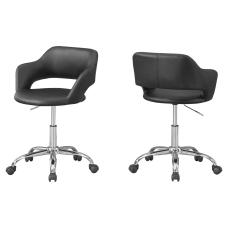 Monarch Specialties Office Chair BlackChrome