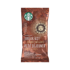 Starbucks Breakfast Blend Ground Coffee 25
