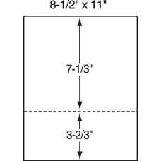 Lettermark Custom Cut Sheets Letter Size