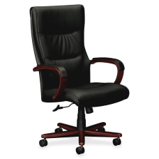 HON Topflight Bonded Leather Executive High