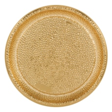 Amscan Plastic Serving Trays 16 Hammered