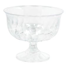 Amscan Plastic Pedestal Bowls 8 Oz