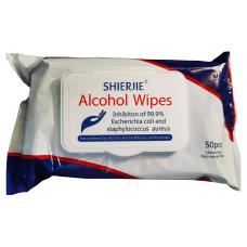 Shierjie 75percent Alcohol Antibacterial Disinfecting Wipes