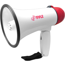 PyleHome Professional Megaphone Bullhorn with Siren