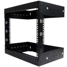StarTechcom 8U Open Frame Wallmount Equipment