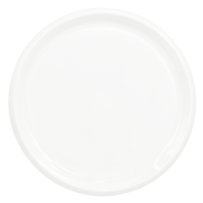 Amscan Round Plastic Platters 16 Frosty